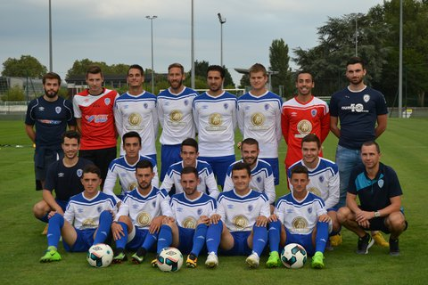 La photo officielle de l'AS Moulins Foot