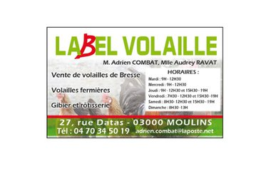 Label Volaille